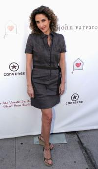 Melina Kanakaredes at the John Varvatos 5th Annual Stuart House Benefit.