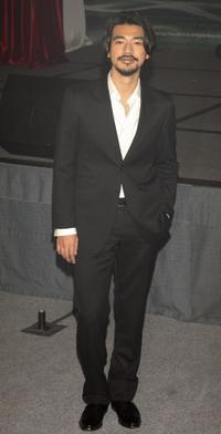 Takeshi Kaneshiro at the premiere of
