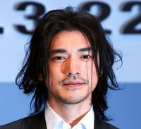 Takeshi Kaneshiro at the Japan premiere of