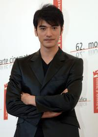 Takeshi Kaneshiro at the photocall for