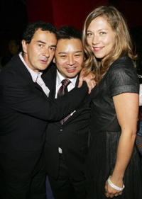 Julian Farino, Rex Lee and Branka Katic at the New York premiere of