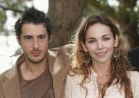 Stephan Guerin-Tillie and Claire Keim at the photocall of
