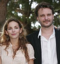 Claire Keim and Yannis Baraban at the photocall of