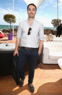 Nikolai Kinski at the Medienboard Reception during the 66th Annual Cannes Film Festival.