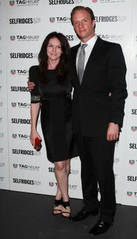 Dervla Kirwan and Rupert Penry-Jones at the TAG Heuer 150th Anniversary Party.