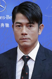Aaron Kwok at the 7th Beijing International Film Festival.