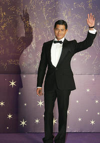 Aaron Kwok at the 25th Hong Kong Film Awards.