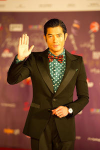 Aaron Kwok at the 29th Hong Kong Film Awards.
