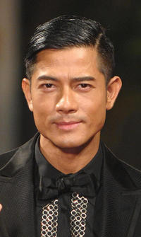 Aaron Kwok at the Golden Horse Film Awards in Taipei.