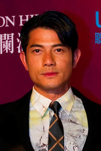 Aaron Kwok at the red carpet during day three of the Mission Hills Start Trophy tournament in China.