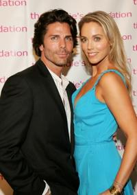 Greg Lauren and Elizabeth Berkley at the 4th Annual