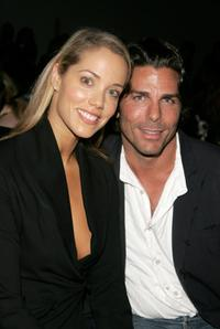 Elizabeth Berkley and Greg Lauren at the Chaiken Spring 2007 fashion show during the Olympus Fashion Week.