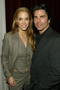Elizabeth Berkley and Greg Lauren at the 19th Annual Lucille Lortel Awards.