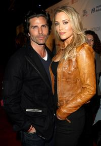 Greg Lauren and Elizabeth Berkley at the Children Mending Hearts Gala.