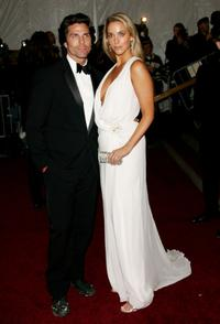 Greg Lauren and Elizabeth Berkley at the Metropolitan Museum of Art Costume Institute Benefit Gala