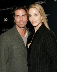 Greg Lauren and Elizabeth Berkley at the screening of