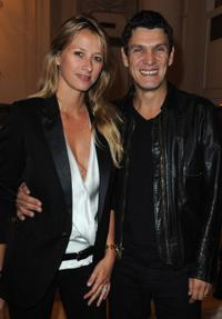 Sarah and Marc Lavoine at the launch of new Jewellery collection