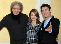 Elie Chouraqui, Barbara Schultz and Marc Lavoine at the screening of