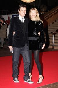 Marc Lavoine and Guest at the NRJ Music Awards 2006.