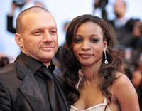Samuel Le Bihan and Daniela Beye at the screening of