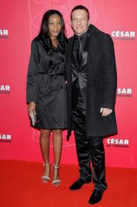 Samuel Le Bihan and Guest at the Cesar Film Awards 2009.