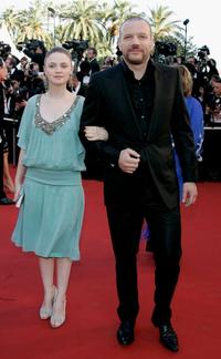 Sara Forestier and Samuel Le Bihan at the premiere of