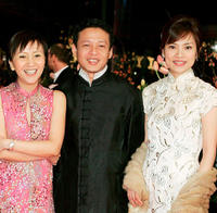 Lu Yi-Ching, Lee Kang-Sheng and Chen Shiang-Chyi at the Germany premiere of