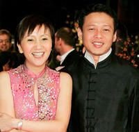 Lu Yi-Ching and Lee Kang-Sheng at the Germany premiere of