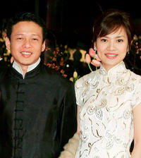 Lee Kang-Sheng and Chen Shiang-Chyi at the Germany premiere of