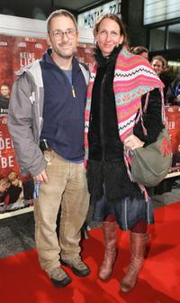 Director Dani Levy and his Wife Sabine Lidl at the premiere of