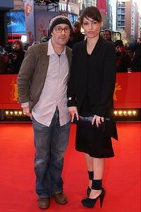 Dani Levy and Nicolette Krebitz at the 59th Berlin Film Festival.