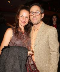 Sabine Lidl and Director Dani Levy at the Opening ceremony of 58th Berlinale Film Festival.