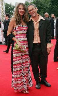 Sabine Lidl and Director Dani Levy at the Deutscher Filmpreis, the German Film Awards.