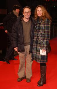Dani Levy and Sabine Lidl at the premiere of