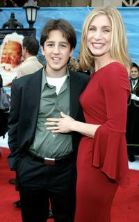 Eric Lloyd and Elizabeth Mitchell at the premiere of
