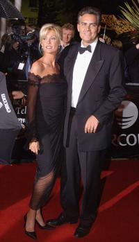 Alison Doody and her husband Gavin O'Reilly at the Irish Film and Television Awards.