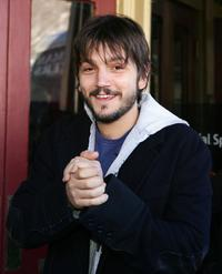Diego Luna at the 2007 Sundance Film Festival.