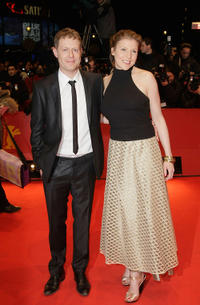 Andreas Lust and Franziska Weisz at the premiere of