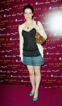 Melanie Lynskey at the Ted Baker Los Angeles store opening.