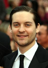 Tobey Maguire at the 79th Annual Academy Awards.