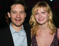 Tobey Maguire and Kirsten Dunst at the premiere of