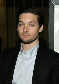 Tobey Maguire at the premiere of