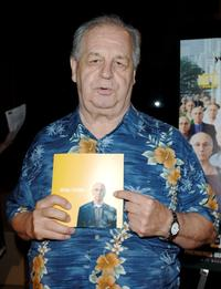 Paul Dooley and Sarge at the Los Angeles Premiere of HBO's