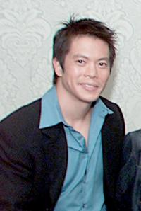 Byron Mann at the promotion of