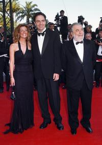 Vanessa Incontrada, Neri Marcore and Pupi Avati at the screening of