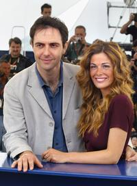 Neri Marcore and Vanessa Incontrada at the photocall of