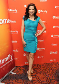 Constance Marie at the 2012 ABC Family Upfront in New York.