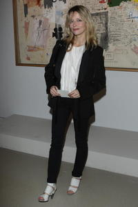 Laure Marsac at the Denis Hopper Et Le Nouvelle Hollywood Dinner.