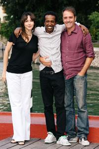 Anita Caprioli, Claudio Noce and Valerio Mastandrea at the 66th Venice Film Festival.