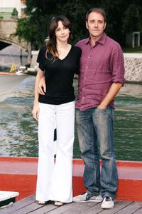 Anita Caprioli and Valerio Mastandrea at the 66th Venice Film Festival.